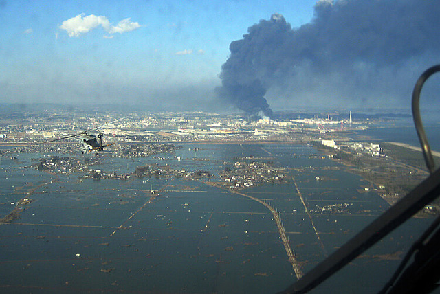 Japan is devastated by a 9.0 magnitude earthquake and tsunami.