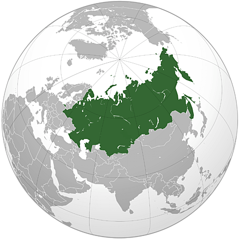 The Eurasian Union is formed.