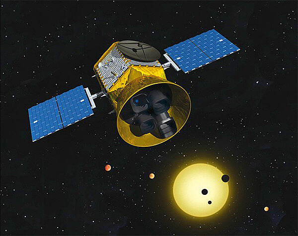 Launch of the Transiting Exoplanet Survey Satellite (TESS)