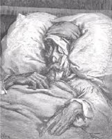 don quijote de la mancha en su cama recobra el conocimiento y empieza a aborrecer los libros de caballeria