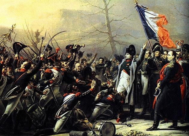 Os cem dias de Napoleão
