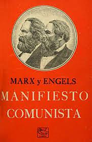 Publicación do manifesto comunista