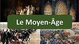 le moyen âge (environ 1000 ans) timeline