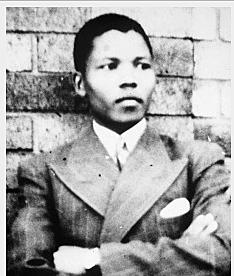 NELSON MANDELA NINETEEN YEARS OLD