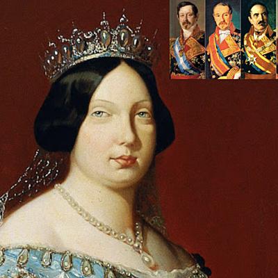 Reinado de Isabel ll - (1833-1868) timeline