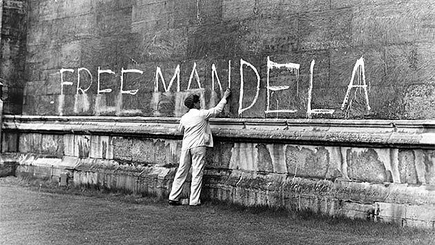 MANDEL IS ARRESTED