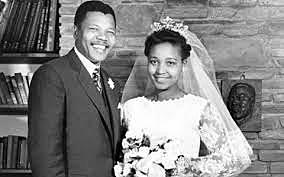 MANDELA MARRIED AND DIVORCED
