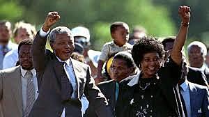 MANDELA IS FREE