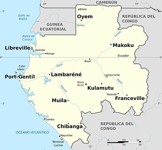 Los portugueses llegaron a Cabo López, Muyama y Setekamay.