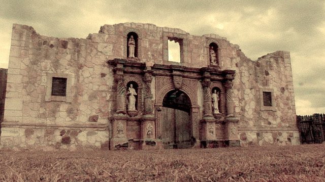 The final attack on the Alamo