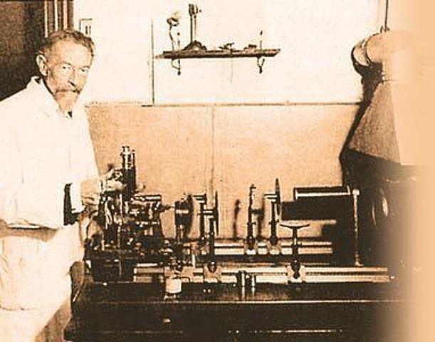Richard Zsigmondy ultra-microscope