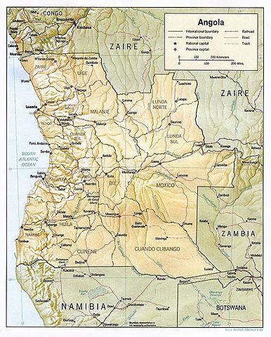 Angola surgió como región autónoma