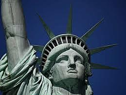 The completion of the Statue Of Liberty