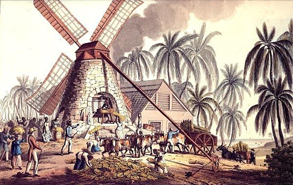 En Brasil comienzan las importaciones masivas de esclavos para la producción azucarera