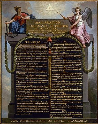 La Declaració de Drets de l'Home i del Ciutadà