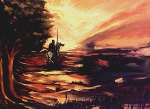 Primera salida de Don Quijote