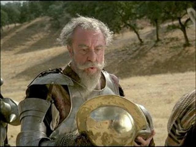 El Quijote y el Yelmo de Mambrino