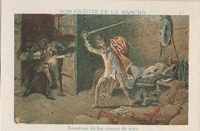 Don Quijote y sus sueños de batalla