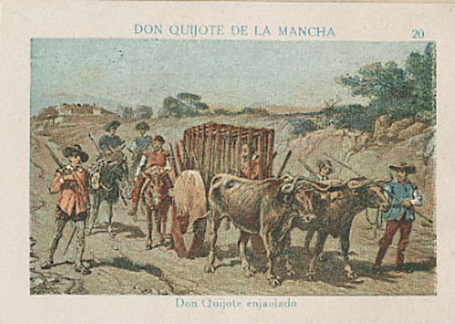 Don Quijote enjaluado
