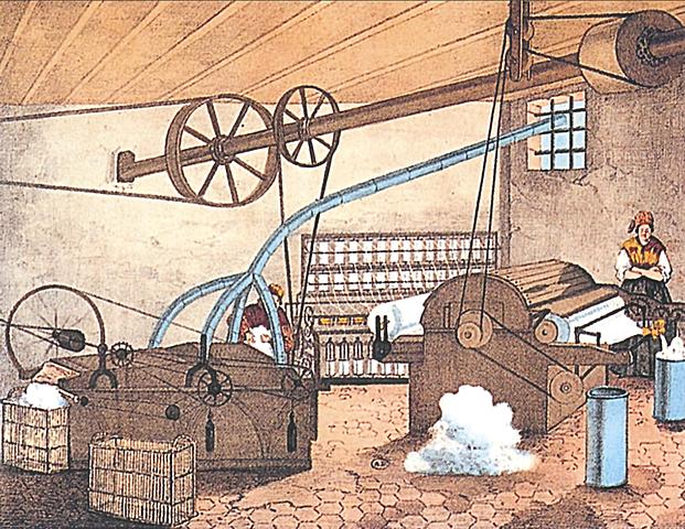 1769Watt inventa la macchina a vapore