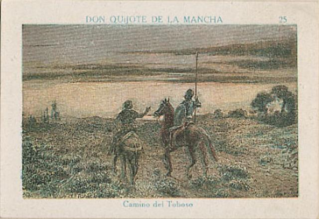 Visita de Don Quijote a Dulcinea