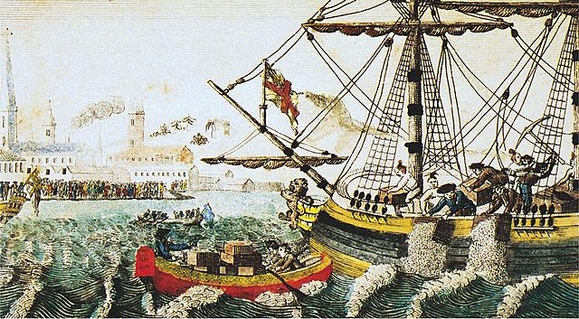 1773Boston Tea Party