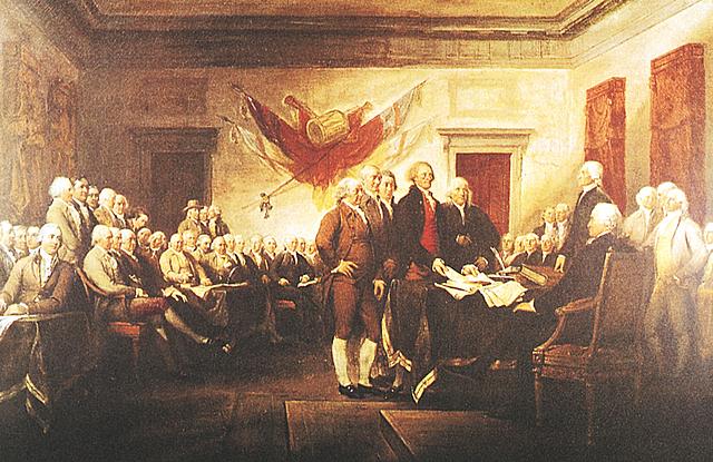 1776La Dichiarazione d'Indipendenza