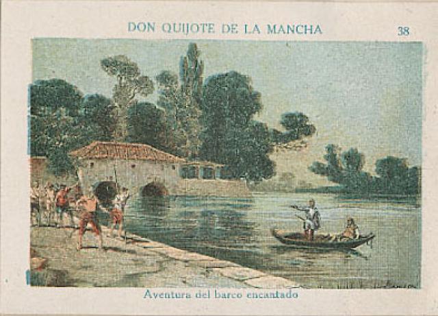 Don Quijote y el barco encantado