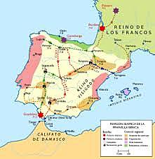 La conquesta musulmana de la Peninsula Iberica