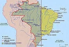 Cesión de las reducciones jesuíticas a Portugal a cambio de la entrega de la colonia de Sacramento.