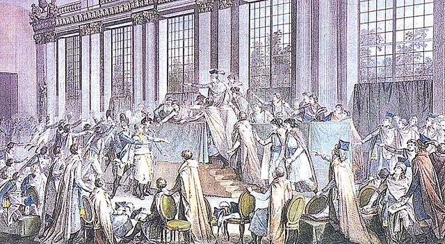 9 novembre 1799Colpo di Stato di Napoleone