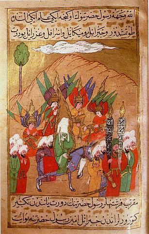Hidżra - ucieczka Mahometa z Mekki do Medyny