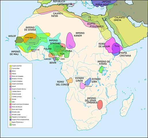 Los esclavos africanos abundaron en la España musulmana desde el siglo VIII