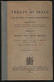 Assinatura do tratado de Versalhes