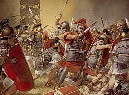 Caída del imperio romano V d.C.
