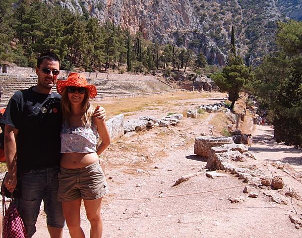 Viaje de novios a la antigua Grecia!