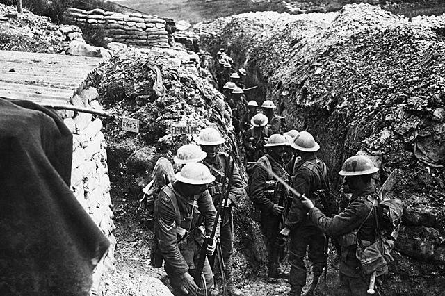 Início da 2ª fase- Guerra das trincheiras ou de posição