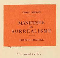Manifiesto del Surrealismo
