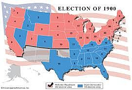William McKinley's Second Election to the Presidency