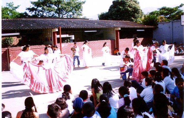 presentacion baile Folclorico