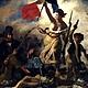 A liberdade guiando povo pintura eugene delacroix 5b4cd89a2aac0