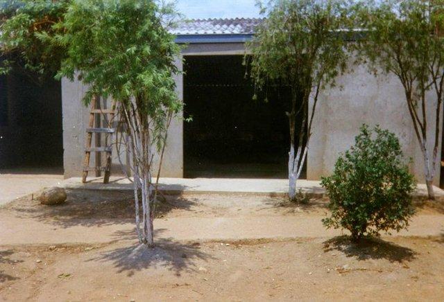 constrcccion sala de informatica 1997