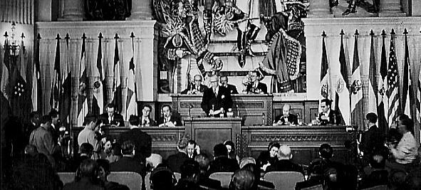 Elaboración y aprobación de la Carta de la OEA