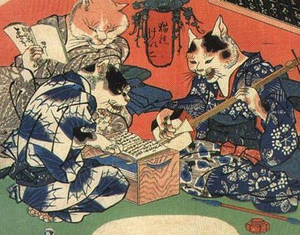Periodo Azuchi Momoyama: Xilografía Japonesa