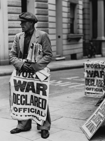 Start of WW2