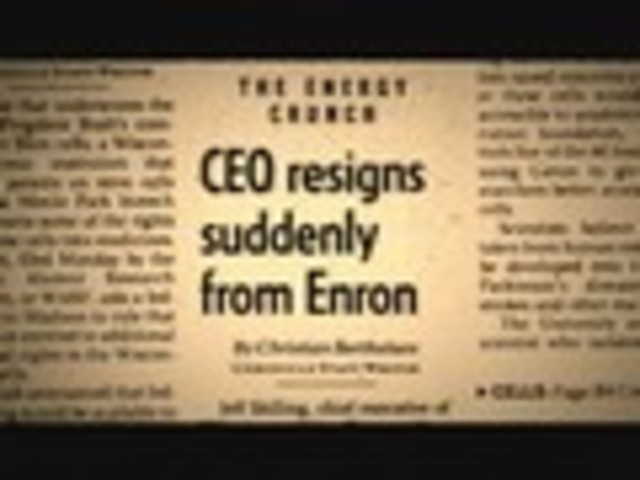 Skilling Resigns