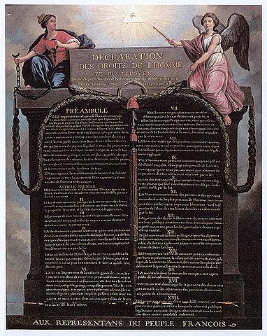 Declaració de drets de l'home i del ciutadà.