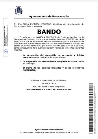 BANDO 17-9-20