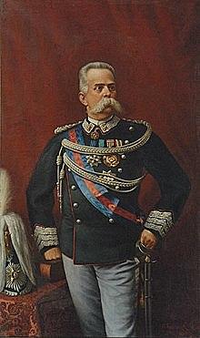 Sale al trono Umberto I