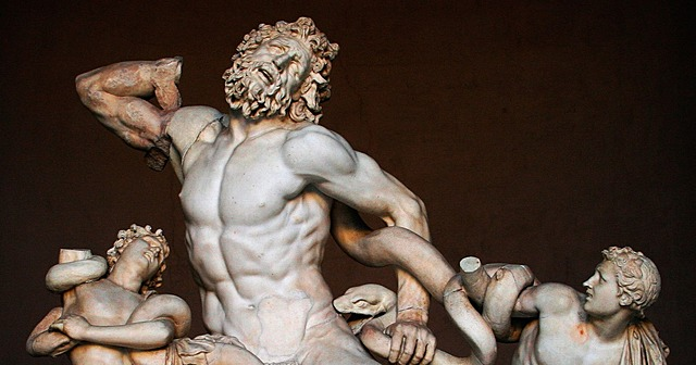 Laocoonte ( Rodas). Escultura.